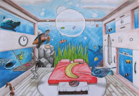 surreales-Zimmer-Klasse9