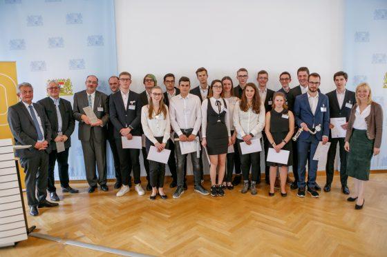 Gymnasium Schrobenhausen, P-Seminarpreisträger 2018