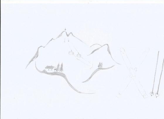 Bild 11.3 Philomena Angermair Bleistiftbild