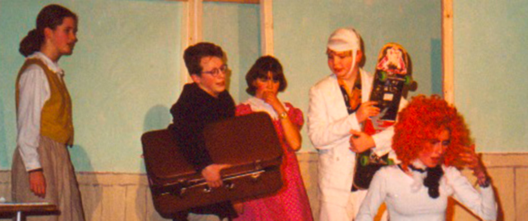 """Theaterstück """"Mathilda"""" aus dem Jahr 1999."""