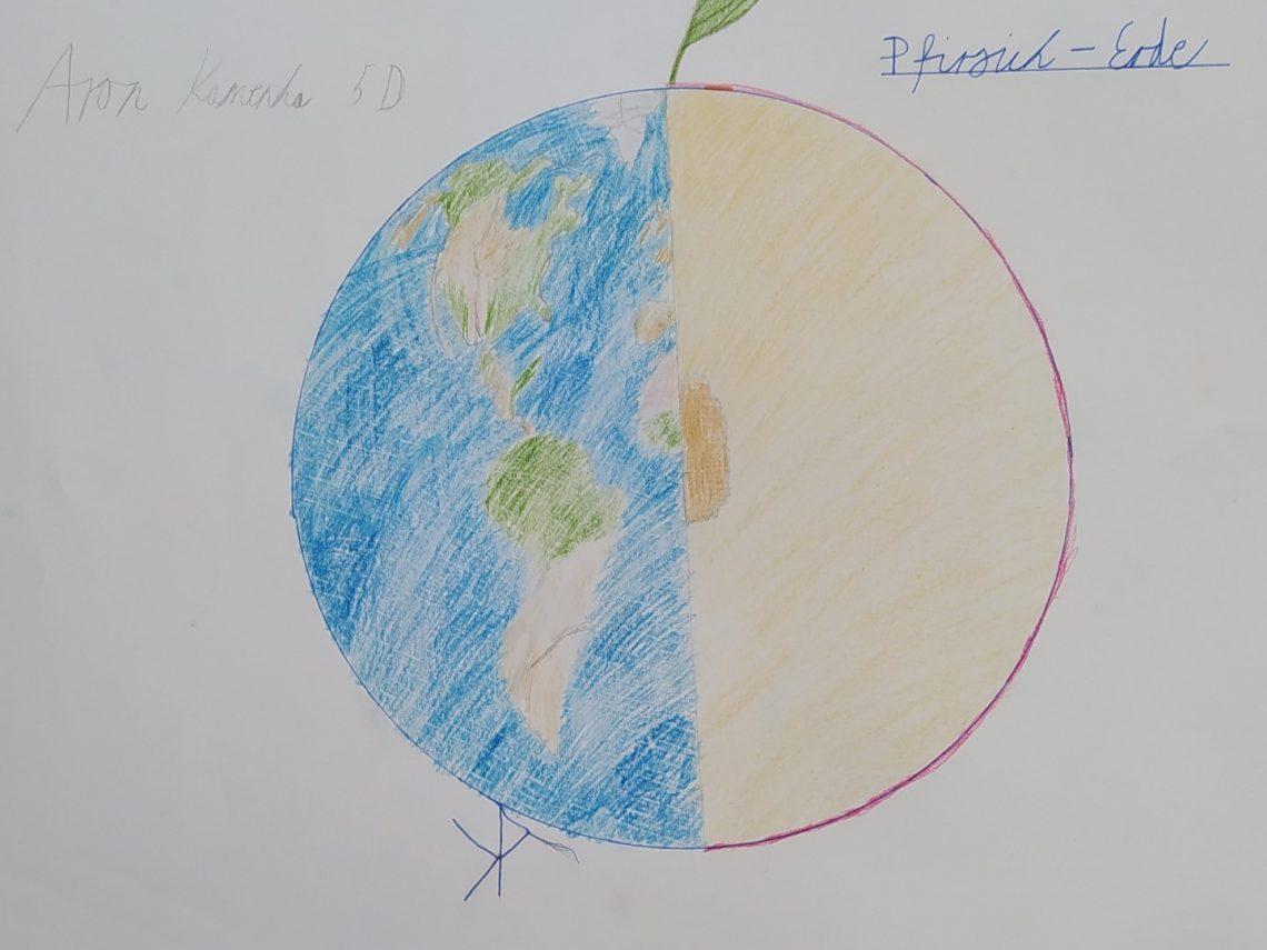 Bild 1 - Erde oder Pfirsich